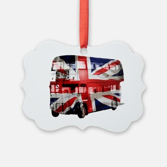 london bus copy Ornament