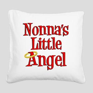 Nonnas Little Angel Square Canvas Pillow