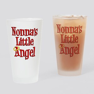 Nonnas Little Angel Drinking Glass