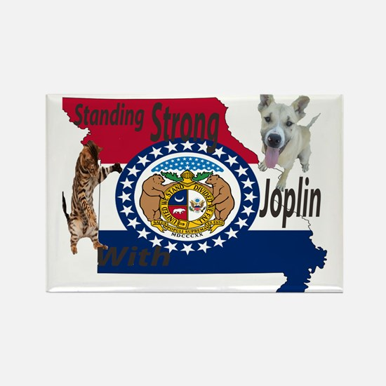 standing-strong-with-joplin.gif Rectangle Magnet