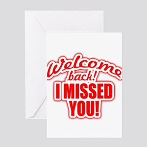 Welcome back greeting cards cafepress back again greeting cards m4hsunfo