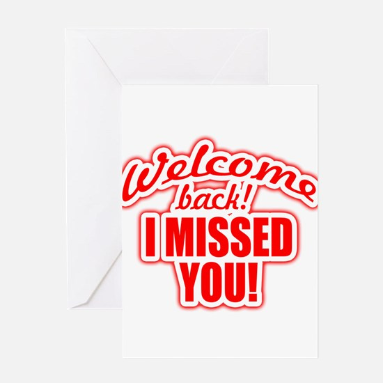 back again! Greeting Cards