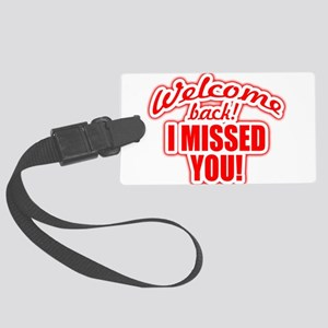 back again! Large Luggage Tag