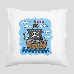 pirate1 Square Canvas Pillow