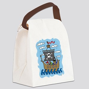 pirate1 Canvas Lunch Bag