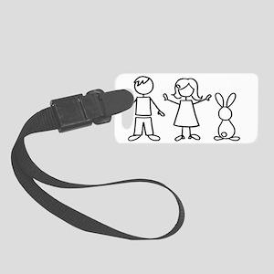 bunfamilysticker1 Small Luggage Tag
