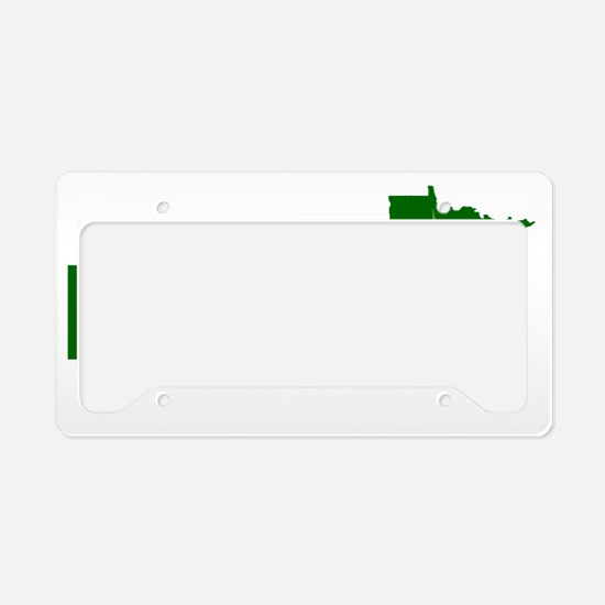 MN NORML Logo white on transp License Plate Holder