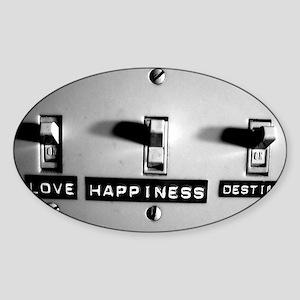 Life Switch Sticker (Oval)