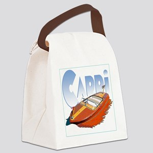 capri-4 Canvas Lunch Bag