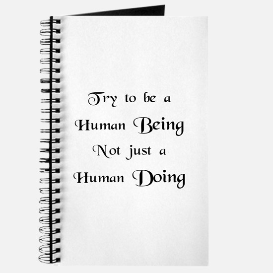 Human Doing Journal