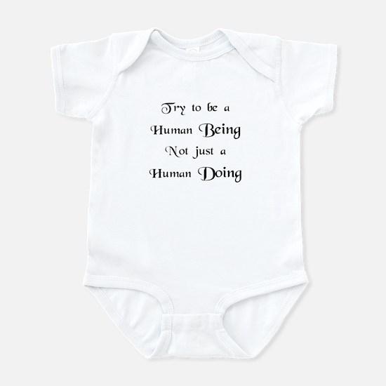 Human Doing Infant Bodysuit
