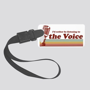 voice-id-rather Small Luggage Tag