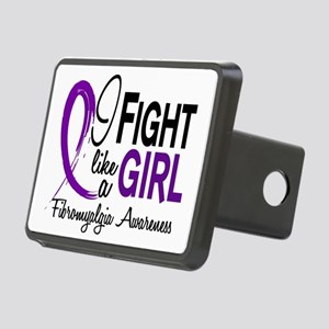 Fibromyalgia Rectangular Hitch Cover