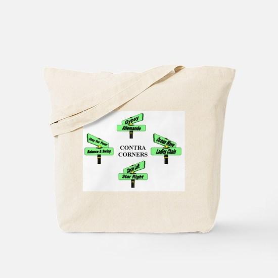 Contra Corners Tote Bag