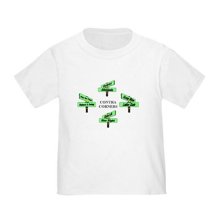Contra Corners Toddler T-Shirt