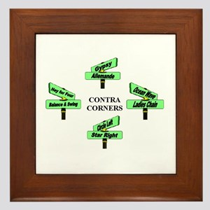 Contra Corners Framed Tile