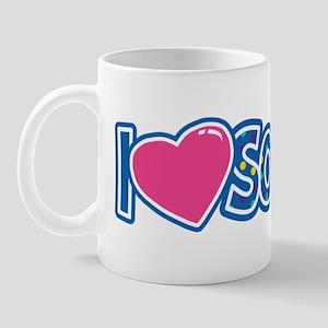 i love Softball Mug