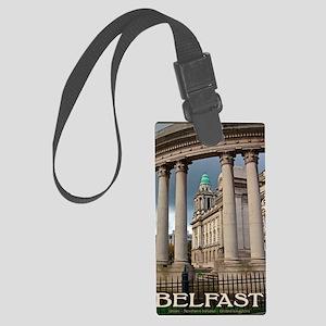 Belfast City Hall Large Luggage Tag