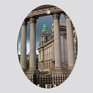 Belfast City Hall Oval Ornament