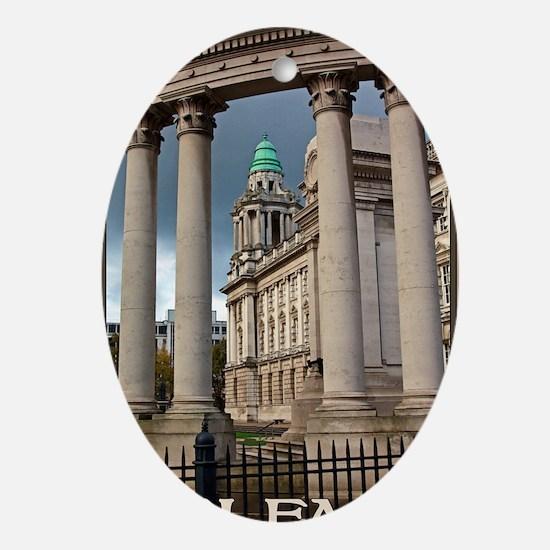 Belfast City Hall Oval Ornament