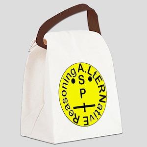 ASPIE Face Logo Canvas Lunch Bag