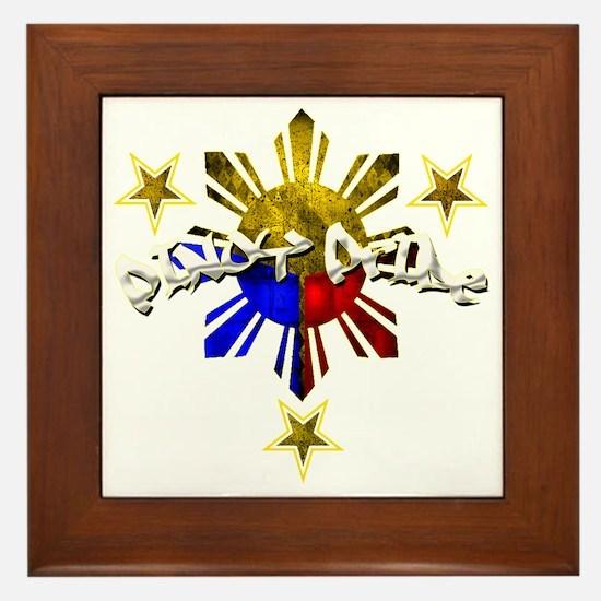 pinoy pride Framed Tile