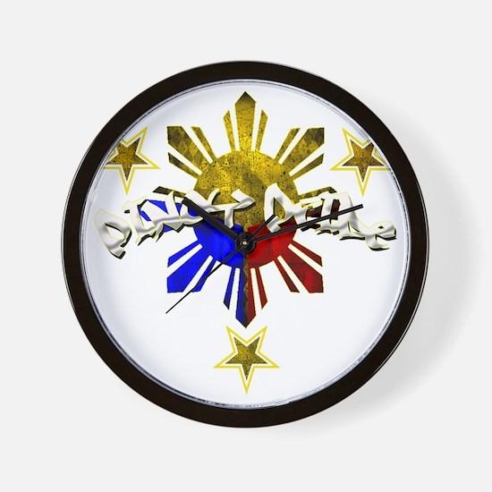 pinoy pride Wall Clock