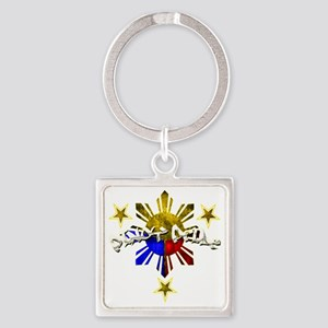 pinoy pride Square Keychain