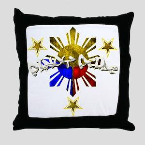pinoy pride Throw Pillow