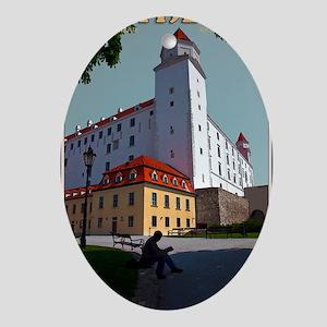 Bratislava Castle Oval Ornament