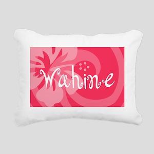 Wahine22o Rectangular Canvas Pillow