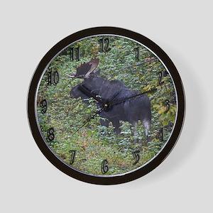 Bull in rut Wall Clock