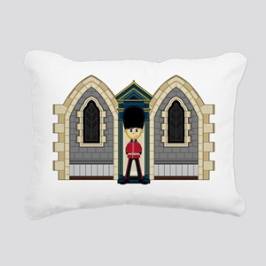 Royal Guard Pad3 Rectangular Canvas Pillow