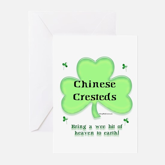 Crested Heaven Greeting Cards (Pk of 10)