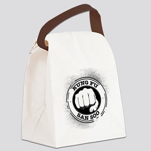 kung fu san soo 4 Canvas Lunch Bag