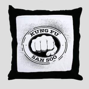 kung fu san soo 4 Throw Pillow