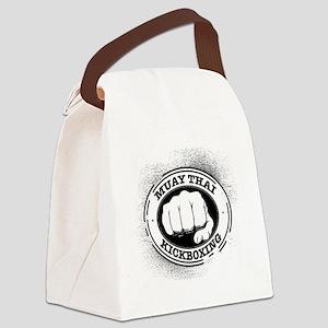 muay thai 3 Canvas Lunch Bag