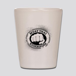 muay thai 3 Shot Glass