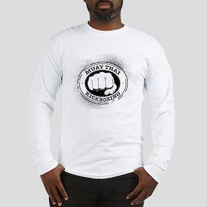 muay thai 3 Long Sleeve T-Shirt