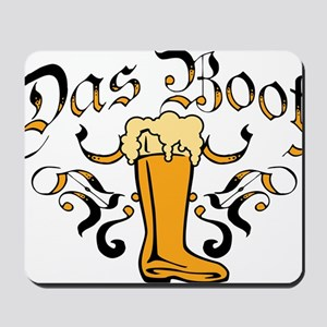Das Boot Of Beer Mousepad