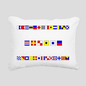 CRUISE-Signal-Flag Rectangular Canvas Pillow