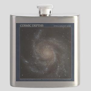 CD-TileBox-Spiral Galaxy M101 Flask