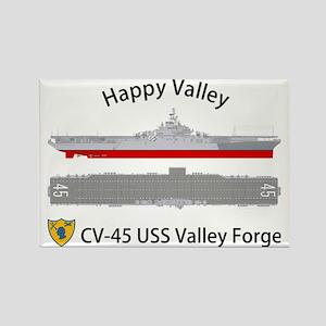 Essex-ValleyForge-Front Rectangle Magnet