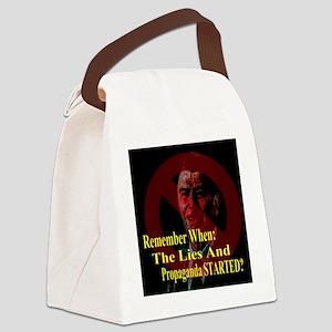 Reagan When Started Propaganda 2 Canvas Lunch Bag