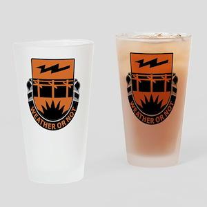 26th Signal Battalion Drinking Glass