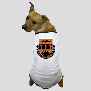 26th Signal Battalion Dog T-Shirt