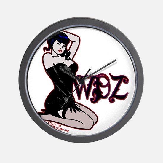 pinup Wall Clock