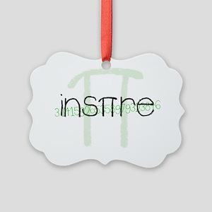 Green Inspire Picture Ornament