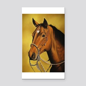 Western Horse Rectangle Car Magnet