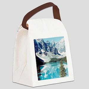 Lago escondido Canvas Lunch Bag